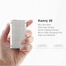 new 7w to 20w box super low resistance huge vapor kamry 20 e cig gizmo stealth mod clone
