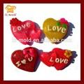 el amor del corazón la fabricación de azúcar fondant del molde de silicona molde de la panadería