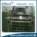 Pvc linha de produção, Dosagem auto, Mixer, Planetary extrusora, Calendário máquina, Winder