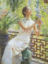 De la muchacha agraciada pintura al óleo trading oriental