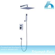 JF-CR0024 dual-function chrome brass brandnew hidden shower mixer/chrome mixer tap