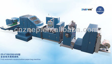 ZD-F190 Updated Roll Feeding Square Bottom Paper Bag Folding and Gluing Machinery for Sale