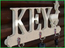 Beautiful Indoor Hanger With Letter KEY Shape For Home Decoration