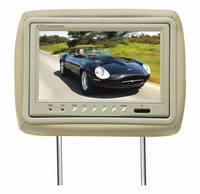 9 inch new digital panel 12v car pillow headrest lcd monitor