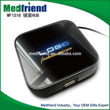 The Most Novel MF1516B Usb 2.0 Hub with Lit-up Logo