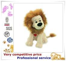 New stuffed animal plush toys lion, lion plush toy factory