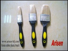 rubber plastic handle paint brushes 1