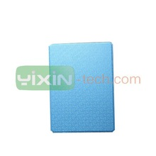 PU leather flip case for ipad 6 with wallet and stand