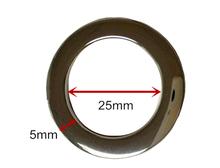 25mm metal d ring for handbags alloy metal ring metal o ring