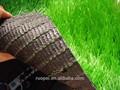 Alta calidad de césped artificial, Césped artificial, Jardín césped sintético para el campo de fútbol
