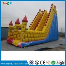 pvc commercial inflatable super slide inflatable slip and slide