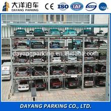 5 level Hydraulic Vertical-Horizontal smart car parking system