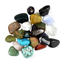 Bulk wholesale all kinds size of Rock quartz and Minerals Tumbled stone