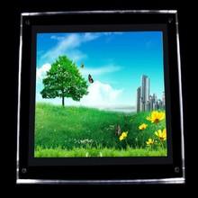 custom flashing acrylic LED/LCD display logo display
