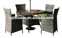 10229 rattan aluminium section sofa sets