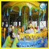 2015hot!! amusement park fiberglass carousel horse for sale