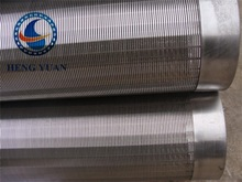 Stainless Steel Wedge Wire Screen Filter Mesh