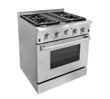 30inch indoor freestanding gas range 4 Burner electrical oven