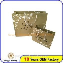 Custom Art Paper Material Paper Bag