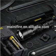 Aluminum led flashlight Nitecore P12 3.7v 800-lumen streamlight flashlight