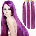 Violeta cabelo weave red violeta cor do cabelo