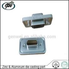 Zinc die casting laptop spare part joint slot