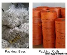 De alta qualidade PES cabo de amarração / cord tecido correia / embalagem de cintagem