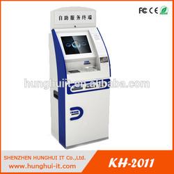 Customizable touch screen cash dispensing machine / ATM