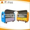 personalizado china lanche quiosque de comida trailer