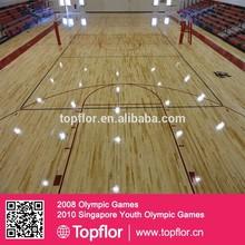 High Gloss Maple Select Gym Vinyl Basketball Flooring