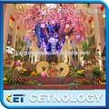 Cetnology vida- tamanho da árvore de fibra de vidro estátua de cobra para venda