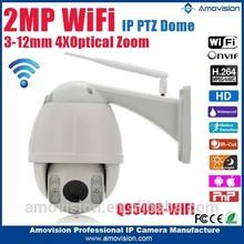 Amovision Q9540R-WIFI 1080P 4X Zoom 3-12mm Lens IR mini dome on salers