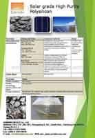 solar grade high purity polysilicon
