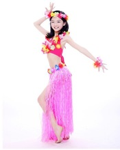 5pcs New design, Milk Silk Kids Stage dance, belly dance hawaii dresses