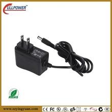 US EU AU UK plug ac adapter 9v 500ma with UL FCC CE GS approved