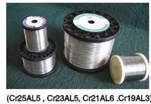 Corrente elétrica calor fio de resistência fio aquecedor Cr25AL5 Cr23AL5 Cr21AL6 Cr19AL3