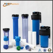 plastic Refillable Water Filter Cartridge Housing
