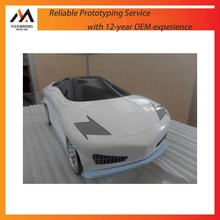 prototype manufacturer car model prototype by CNC machining