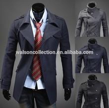 men jacket wholesale retail collar men's coat fashion clothes hot sale spring winter overcoat outwear