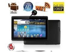 HOT SALE!!!7 Inch Allwinner A13 A23 1.2GHZ 1.5GHz Capacitive Screen Tablet PC