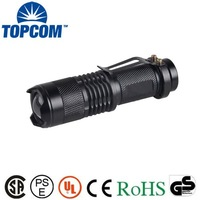 High Power Long Range Rechargable Torch Mini Zoom XML LED Flashlight Cree