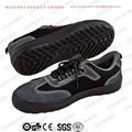 Alta qualidade azul de couro cor camurça makoni sapatos de segurança