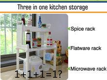portable kitchen rack dinner plate racks microwave oven cabinet