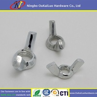 304 Stainless Steel M6 Lock Wing Nut/Butterfly Nut