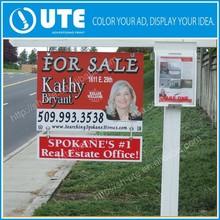 Custom real estate advertising sign frame