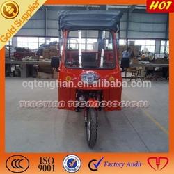 Africa Hottest Cargo Passenger Rear Canvas 3 Wheel 200cc Pedicab For Sale