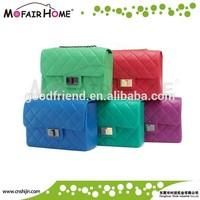 Fashional women silicone handbag