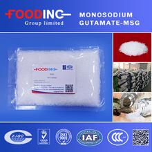 Food seasoning China Manufacturer 99% Monosodium Glutamate Price MSG