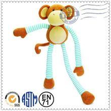 Lovely promotional custom plush baby plush toy monkey