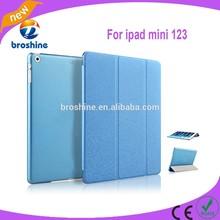 Top sale ultra slim leather case for ipad mini 12 3 case